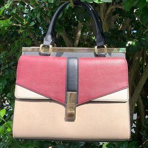 Aldo large leather handbag nwot